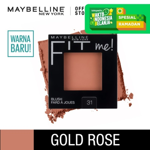 Foto Produk Maybelline Fit Me Blush On Make Up - Gold Rose dari Maybelline Official Shop