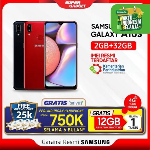 Foto Produk Samsung Galaxy A10S 2/32GB - Garansi Resmi - Hitam dari SUPER_GADGET