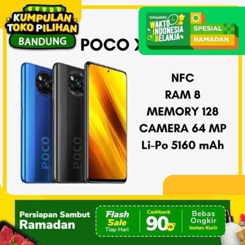 Foto Produk Poco X3 NFC 8/128 Pocophone X3 Poco X 3 Garansi Resmi XIAOMI INDONESIA - Abu-abu dari BursaApple