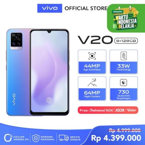 Foto Produk Vivo V20 [8/128] RAM 8GB ROM 128GB Sunset Melody dari vivo Indonesia