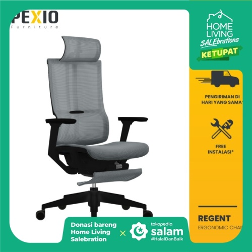 Foto Produk Kursi Kantor   Kursi Jaring   Kursi Ergonomic   Regent  PEXIO dari PEXIO