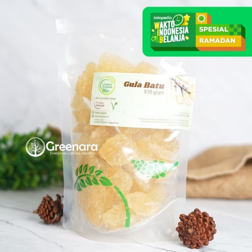 Foto Produk Lingkar Organik Gula Batu 1Kg dari Greenara