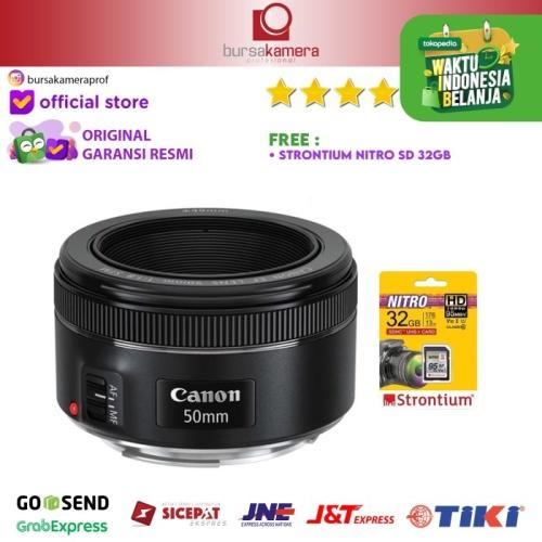 Foto Produk Canon EF 50mm f/1.8 STM Lens dari Bursa Kamera Profesional