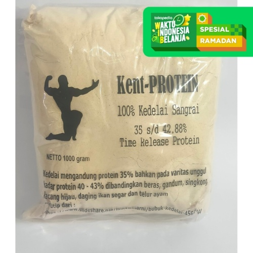 Foto Produk Kent-PROTEIN   Susu Bubuk Kedelai Protein Casein - Kemasan 1 Kg dari Prometheus Shop