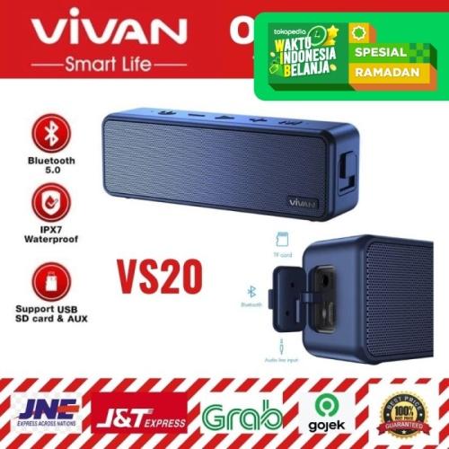 Foto Produk SPEAKER BLUETOOTH VIVAN VS20 WATERPROOF IPX7 20W ULTRA BASS dari serunicomp