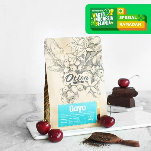 "Foto Produk Otten Coffee Arabica Gayo ""Atu Lintang"" 200g dari OTTEN COFFEE"