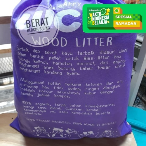 Foto Produk Lucky Wood Pellet Pet Litter Pasir kucing, hamster, rabbit, burung dari Helios Pet And Hobbies