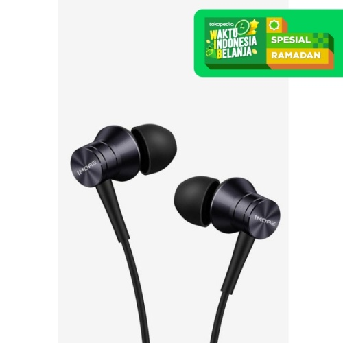 Foto Produk 1MORE Piston Fit In-Ear Earphones - E1009 - Hitam dari 1MORE Official Store