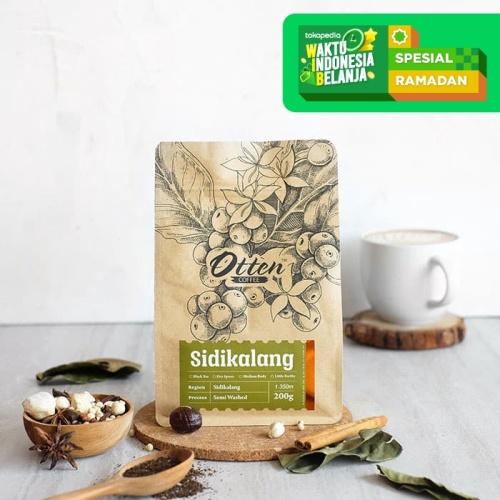 Foto Produk Otten Coffee Arabica Sidikalang 200g dari OTTEN COFFEE