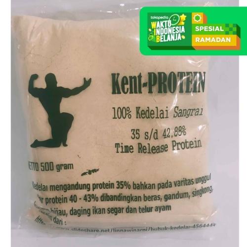 Foto Produk Kent-PROTEIN   Susu Bubuk Kedelai Protein Casein - Kemasan 500 Gram dari Prometheus Shop