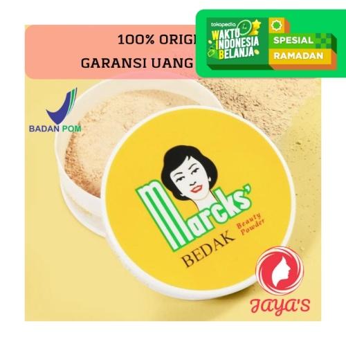 Foto Produk Marcks Beauty Powder 40 gr Bedak Tabur by Kimia Farma Original BPOM - Rose dari Jaya's