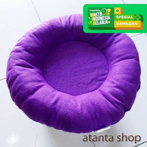 Foto Produk Bantal Anjing Bantal Kucing Bentuk Bundar Diameter 35cm pet bed dari atanta Shop