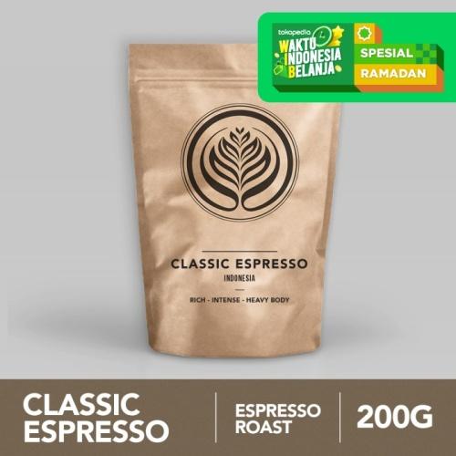 Foto Produk Classic Espresso 200g - Biji Kopi Arabika 200gr | Coffeenatics dari Coffeenatics
