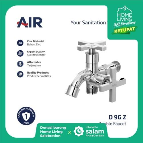 Foto Produk AIR Kran Dobel Keran Air / Double Faucet D 9G Z dari AER Sanitary Indonesia
