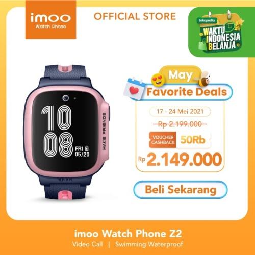 Foto Produk imoo Watch Phone Z2 - HD Video Call - LITMUS PINK dari imoo Official Store