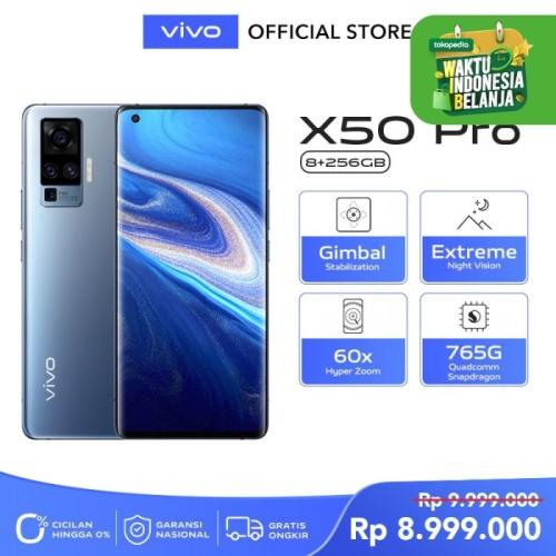 Foto Produk Vivo X50 Pro [8/256] RAM 8 ROM 256 Alpha Grey dari vivo Indonesia