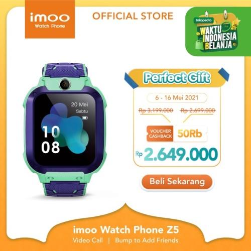 Foto Produk imoo Watch Phone Z5 - HD Video Call - HIJAU MUDA dari imoo Official Store