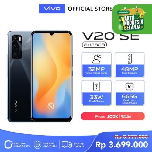 Foto Produk Vivo V20 SE [8/128] RAM 8GB ROM 128GB Gravity Black dari vivo Indonesia