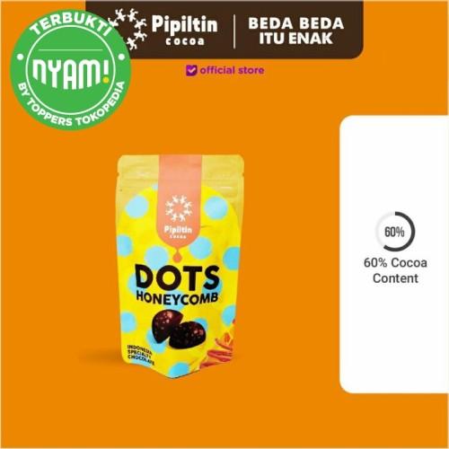 Foto Produk Pipiltin Cocoa Snack Chocolate - Chocolate Dots Honey Comb - Original dari Pipiltin Cocoa