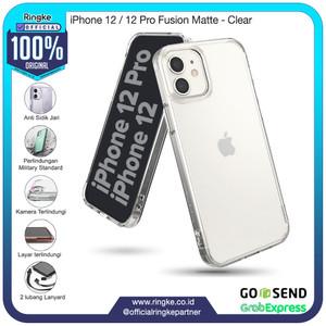 Foto Produk Ringke iPhone 12 / 12 Pro Fusion Matte Clear Softcase Anti Crack Armor dari Official Ringke Partner