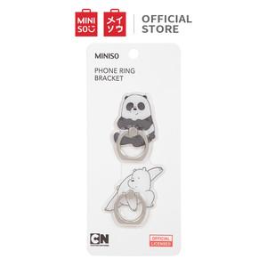 Foto Produk MINISO Smart Grip Ring Holder Phone Mobile Stand HP We Bare Bears 2Pcs - Random pick dari Miniso Indonesia