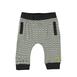 Foto Produk Bampidano Baby Boys Slim Fit Trousers Stripe Melange - GREY, 2-3 months dari Mothercare ELC Official