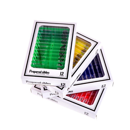 Foto Produk xinp✨48 Pcs Prepared Microscope Slides Specimen Animals Insects dari DDS Official