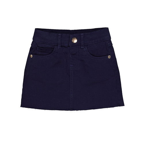 Foto Produk Mothercare navy frayed edge skirt - NAVY, 4-5 years dari Mothercare ELC Official