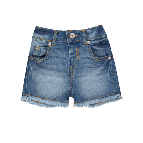 Foto Produk Mothercare frayed hem denim shorts - Denim, 4-5 years dari Mothercare ELC Official