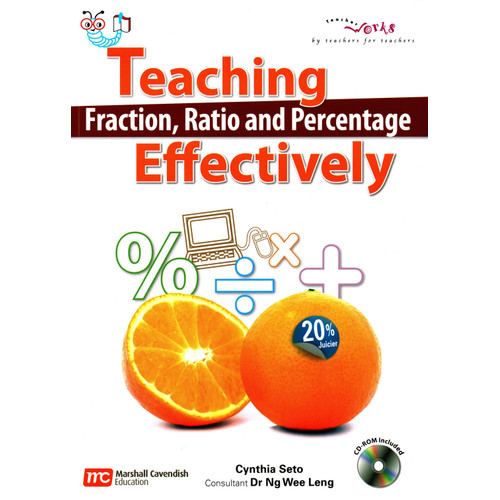 Foto Produk Teaching Fraction, Ratio, and Percentage Effectively + CD dari Little Bookworm