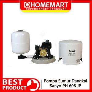 Foto Produk PROMO Pompa Sumur Dangkal Sanyo PH 608 JP NEW dari Home-MART