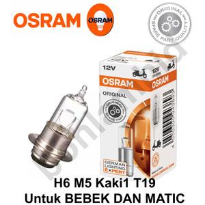 Foto Produk Lampu Motor SUPRA X 125 OSRAM ORIGINAL Bohlam H6 M5 T19 - 25W dari Bohlam HID