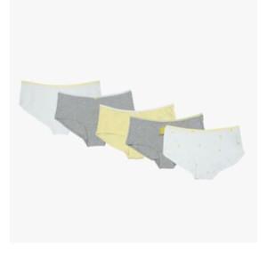 Foto Produk MARKS & SPENCER - Celana Dalam Wanita - 5 Pack Lemon print Short - YELLOW MIX, 8 dari MARKS & SPENCER