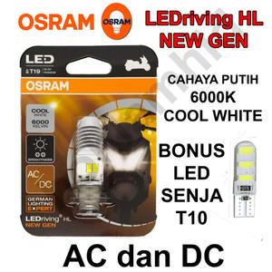 Foto Produk Lampu Motor LED OSRAM MIO (putih) Bohlam H6 M5 T19 AC DC dari Bohlam HID