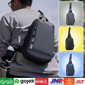 Foto Produk ⁂Waist Bag Tas Slendang | Tas Model Korea Grey/Black/Navy Tas Import dari Toko Kangen Belanja