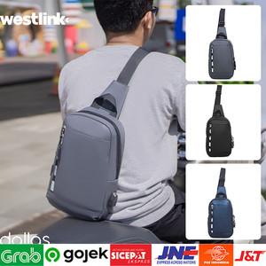 Foto Produk ⁂Weistbag Tas Cangklong | Tas Motor Touring Grey/Black/Navy Terbaru dari Toko Kangen Belanja