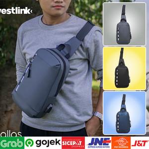 Foto Produk ⁂Tas Biker Waist Bag | Tas Selendang Pria Model Terbaru dari Toko Kangen Belanja