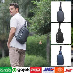 Foto Produk ⁂Tas Selendang Weist Bag | Tas Motor Grey/Black/Navy Tas Import dari Toko Kangen Belanja