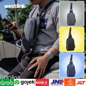Foto Produk ⁂[GARANSI ORI] Sling Bag Weist Bag Pria   Tas Cangklong Terbaru dari Toko Kangen Belanja