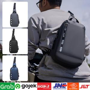 Foto Produk ⁂Tas Slendang Weistbag   Tas Motor Touring Grey/Black/Navy Terbaru dari Toko Kangen Belanja