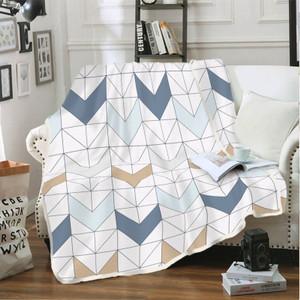 Foto Produk Selimut Flannel 160 x 200 Abel Kintakun Polyester Putih Anti Alergi dari Kintakun Sprei Bedcover