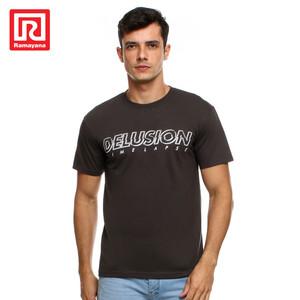 Foto Produk Ramayana - RAF - Tshirt Sablon S/S 12.543 - Maroon, M dari Ramayana Dept Store