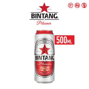Foto Produk Bir Bintang Pilsener 500ml Can Single dari Drink Corner Bekasi