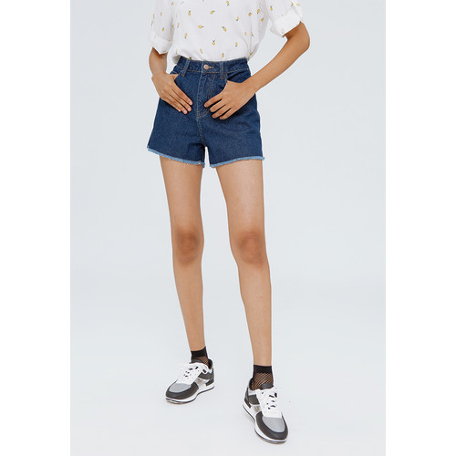 Foto Produk Colorbox Denim Short Pants I:Spdkey120F056 Med Blue - Med Blue, L dari Colorbox Indonesia