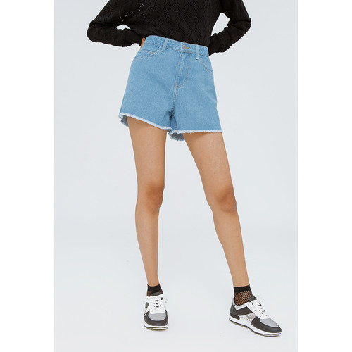 Foto Produk Colorbox Denim Short Pants I:Spdkey120F057 Lt. Blue - Lt. Blue, M dari Colorbox Indonesia