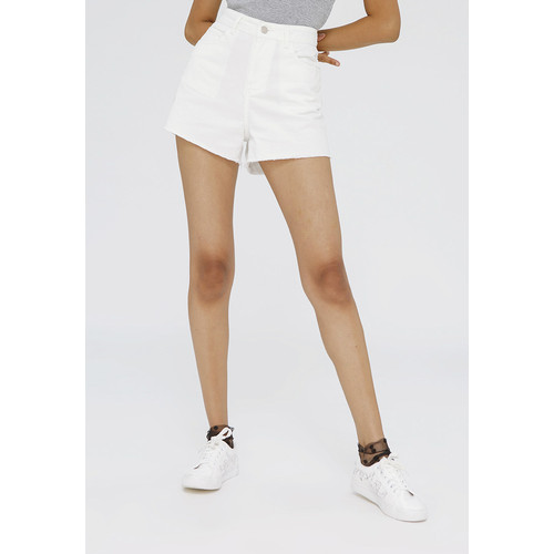 Foto Produk Colorbox Denim Short Pants I:Spdkey120F014 Off White - Off White, XS dari Colorbox Indonesia