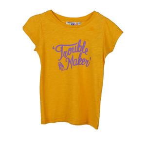 Foto Produk Hush Puppies Kids T-Shirt Alexandra-Tee In Yellow - Yellow, XS dari Hush Puppies Kids
