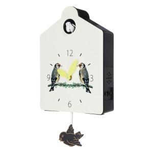 Foto Produk Antique Wooden Cuckoo Clock Bird Time Bell Swing Alarm Watch Wall dari Interest Shop