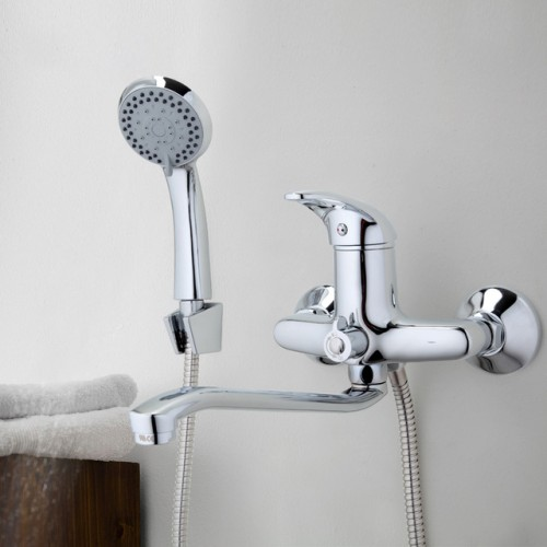 Foto Produk FRAP F2203 Bathroom ABS Handheld Shower Head and with 180 Degree dari Interest Shop