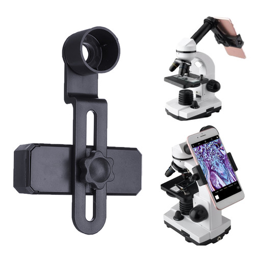 Foto Produk Microscope Lens Adapter Mobile Phone Smartphone Clip Camera Adaptor dari Interest Shop